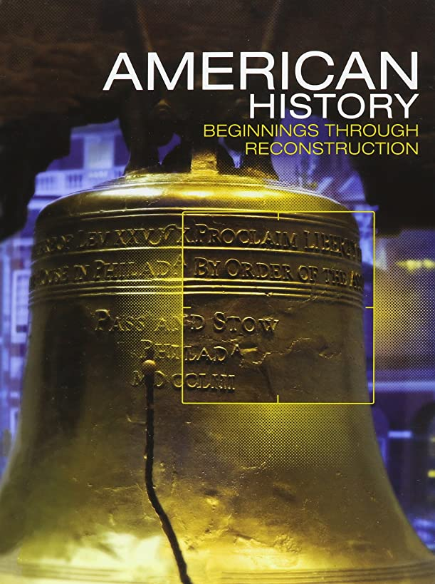 Middle Grades American History 2016 Beginnings Through Reconstruction Student Edition Grade 8
