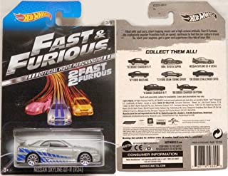 Hot Wheels Fast & Furious Limited Edition - Nissan Skyline GT-R (R34) [3/8]