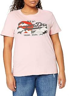 Superdry VL Rising Sun tee Camiseta para Mujer