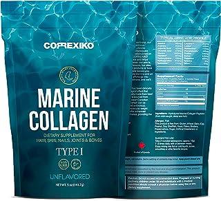 comprar comparacion Péptidos Colágeno Marino de Peces Salvajes del Atlántico Norte (No de Acuicultura) – Proteína de Colágeno en Polvo para Ar...