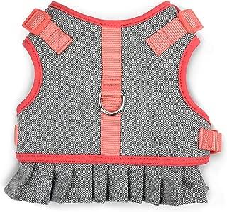 MARTHA STEWART Tweed Adjustable Fit Comfort Dress Harness for Dogs