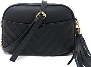 Quilted Crossbody Bag, Trendy Design Shoulder Purse