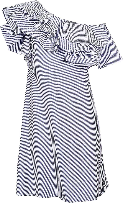 Jovonna London Women's 353LAKEVILLEblueE bluee Polyester Dress