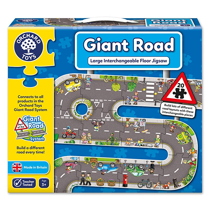 Orchard Toys Giant Road Jigsaw Floor Puzzle (20 Piece)