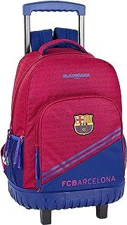 FC Barcelona Corporativa Oficial Mochila Escolar Grande Con Ruedas 320x140x460mm