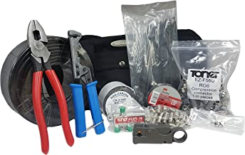 Cable Repair/Installation Kit, RG6-RIK, Coaxial Cable