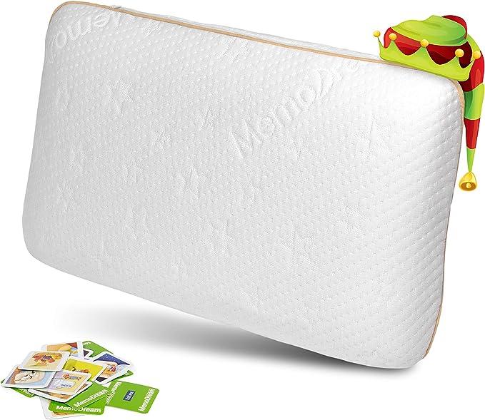 582 opinioni per Cuscino Vitapur per bambini- Cuscino Premium con schiuma certificata Memory Foam