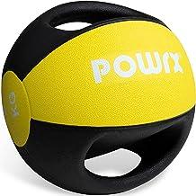 Medicijnbal met handgrepen professionele 3kg; 4kg; 5kg; 6kg; 7kg; 8kg; 9kg; 10kg I gewicht bal fitness kwaliteit incl. gra...