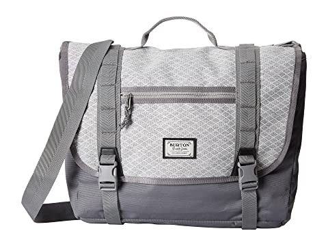 Gris Heather Diamante Burton Flint Messenger Ripstop qpgx6wnzER