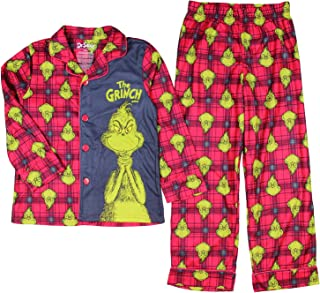 boys grinch pajamas