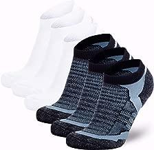 Merino Wool Socks Men and Women – Low Cut Cushioned Athletic Running Sock, Moisture Wicking