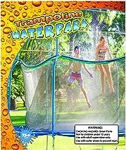 trampoline water park setup