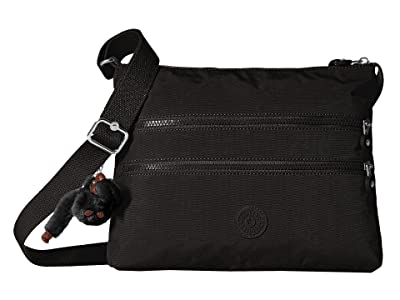 Kipling Alvar Crossbody Bag (Black 2) Cross Body Handbags