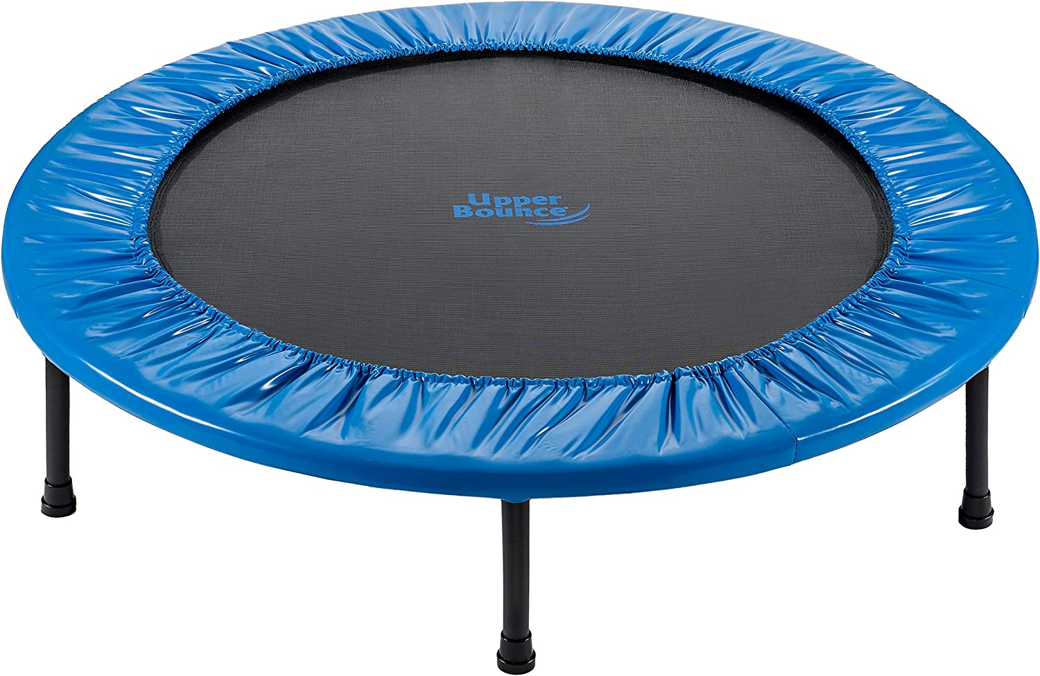 Upper Bounce Mini Trampoline Deluxe - Foldable Round New Orleans Mall Fitness Rebounder