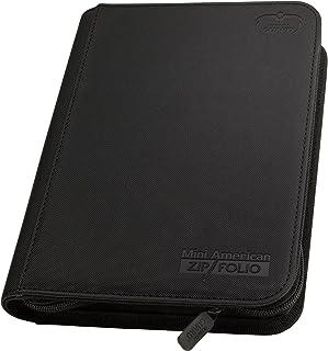 Ultimate Guard UGD010479 9-Pocket ZipFolio Mini-American XenoSkin, Black