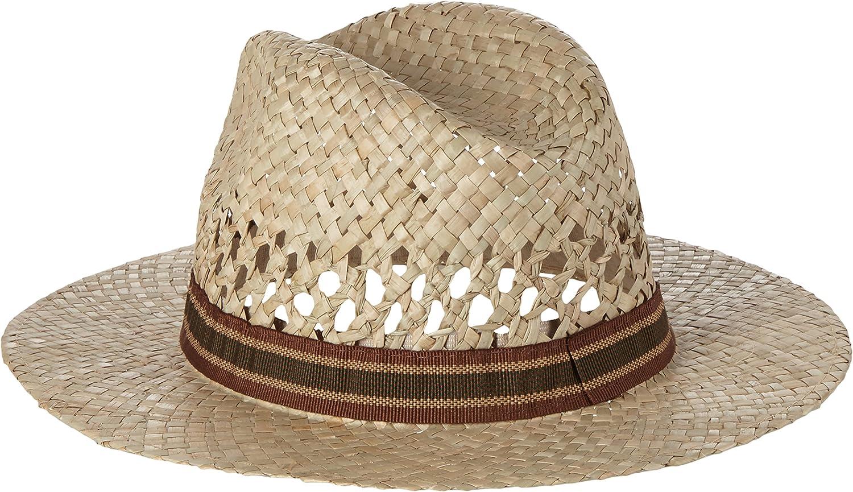 Mount Hood Fedora Sombrero de Paja: Amazon.es: Ropa y accesorios