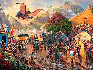 Ceaco Thomas Kinkade The Disney Collection Dumbo Jigsaw Puzzle, 750 Pieces