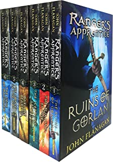 Rangers Apprentice 6 Books Collection Set (Series 1) - Ruins of Gorlan, Burning Bridge, Icebound Land, The Oakleaf Bearer...