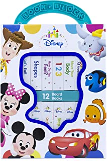 Disney Baby Mickey Mouse, Minnie, Toy Story and More! – My First Library Board Book..