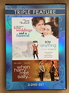 Four Weddings and a Funeral / Say Anything / When Harry Met Sally