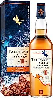 Talisker 10 Year Old Single Malt Scotch Whisky, 700ml