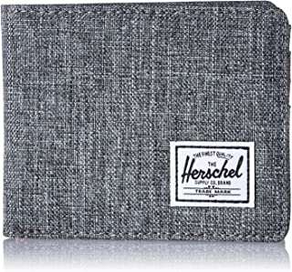 Men's Roy RFID Wallet, Raven Crosshatch, One Size