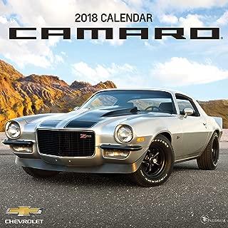 2018 camaro calendar