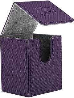 Ultimate Guard Flip Deck Case, 100 Plus, Standard Size, XenoSkin, Purple