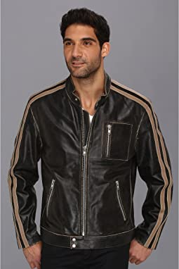 Scully - Sanded Calf Racing Jacket