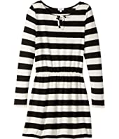 Splendid Littles - Yarn-Dyed Stripe Loose Knit Dress (Big Kids)