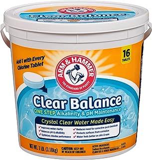 Arm & Hammer Clear Balance Pool Maintenance Tablets, 16 Count, Net Wt. 7LB (3.1kg)