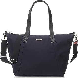 Storksak Noa Luxe Shoulder Bag Diaper Bag with Organizer, Midnight Blue