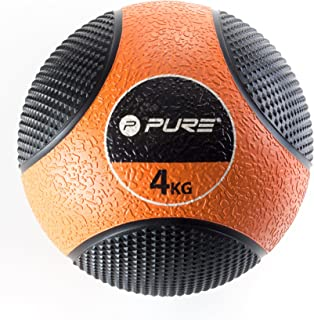 2 kg Pure2Improve P2I110070 Ballon dexercice avec Corde Mixte Adulte Vert//Noir