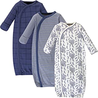 Unisex Baby Organic Cotton Kimono Gowns