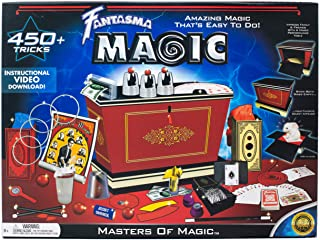 Fantasma Masters of Magic Set - Starter Magic Kit for Kids and Adults - Learn 450+ Magic Tricks - Boys and Girls Ages 8 an...