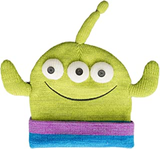 Disney Pixar Toy Story Alien Face Movie Character Peruvian Knit Beanie Hat