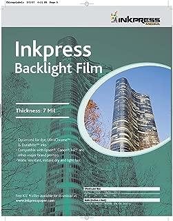 Inkpress Media Backlight Film, 7 Mil Paper
