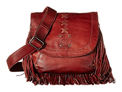 STS Ranchwear Daydreamer Crossbody (Red/Brown) Handbags