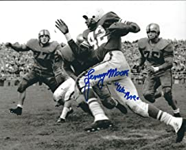 Autographed Lenny Moore Penn State Nittany Lions 8X10 photo w/COA