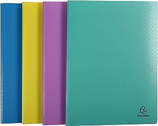 Exacompta - Réf 88590E - Protège-documents 100 vues/50 pochettes -Forever Young- polypropylène recyclé opaque semi rigide...