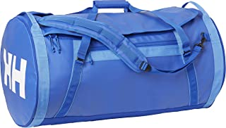 Helly Hansen Unisex HH Duffel Bag 2 Water Resistant Packable Bag with Optional Backpack Straps, 564 Olympian Blue, 70-Liter (Large)