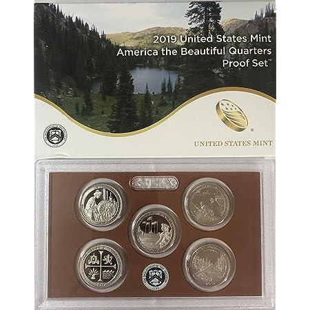 P D  America the Beautiful National Parks QUARTERS  Mint /& Proof Set. 2019 S