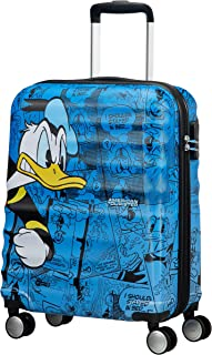 American Tourister - Disney Wavebreaker - Spinner 55/20 Hand Luggage, 55 cm, 36 liters, Multicolour (Donald Duck)