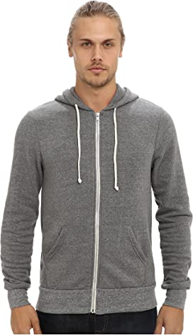 Threads 4 Thought Mens Loop Terry Zip Hoodie