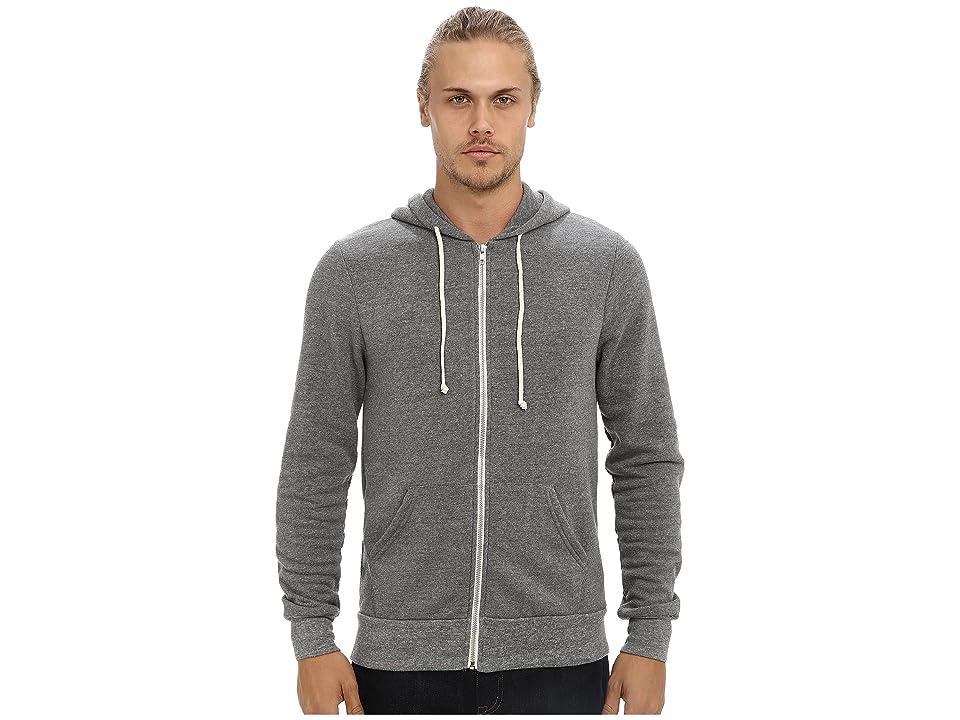 Alternative Rocky Zip Hoodie (Eco Grey) Men