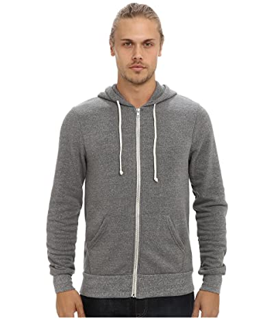 Alternative Rocky Zip Hoodie (Eco Grey) Men
