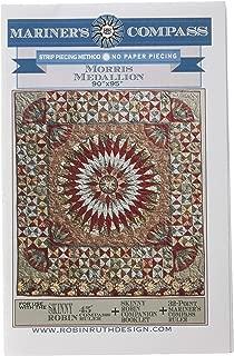 Robin Ruth Design LLC RRD176 Morris Medallion Pattern