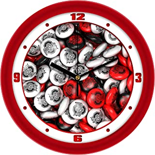 red candy wall clocks
