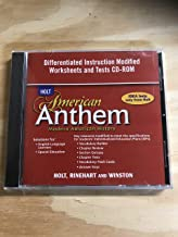 American Anthem, Modern American History: Differentiated Instruction Modified Worksheets and Tests CD-ROM