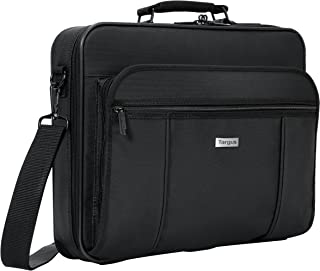 Targus Premiere Case Bag with Padded Sleeve for 15.4-Inch Laptop Compartment, Black (TVR300)